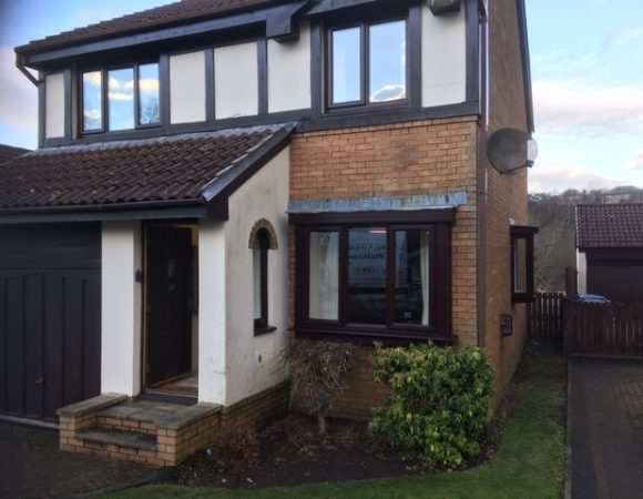 Kilmacolm windows front of house inc bay2